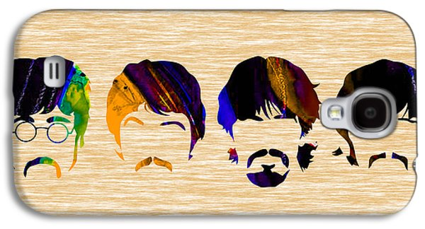 John Lennon Galaxy S4 Cases - The Beatles Collection Galaxy S4 Case by Marvin Blaine