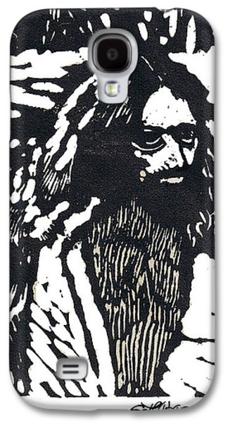 Saviour Drawings Galaxy S4 Cases - The Blessing Galaxy S4 Case by Seth Weaver