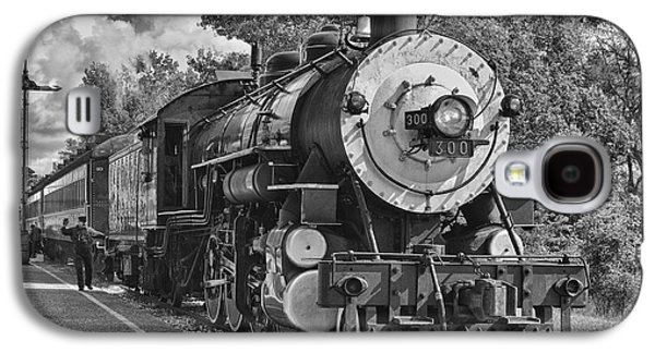Caboose Photographs Galaxy S4 Cases - The Brakeman Galaxy S4 Case by Robert Frederick