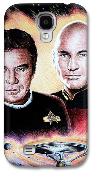 Enterprise Galaxy S4 Cases - The Captains   Galaxy S4 Case by Andrew Read