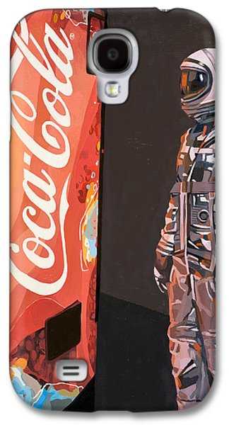 Space Paintings Galaxy S4 Cases - The Coke Machine Galaxy S4 Case by Scott Listfield