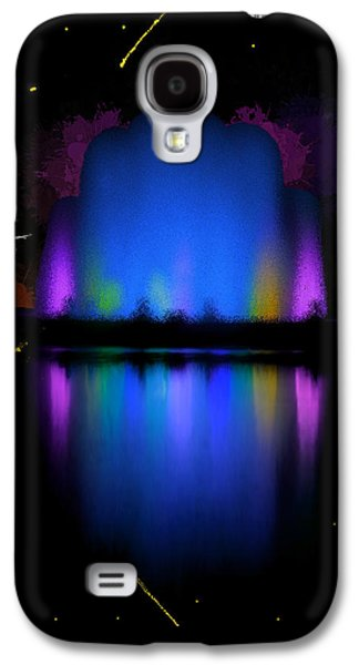 Jet Star Galaxy S4 Cases - The Electric Fountain Galaxy S4 Case by Bruce Nutting
