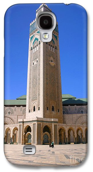 The Hassan II Mosque Grand Mosque With The Worlds Tallest 210m Minaret Sour Jdid Casablanca Morocco Galaxy S4 Case by Ralph A  Ledergerber-Photography