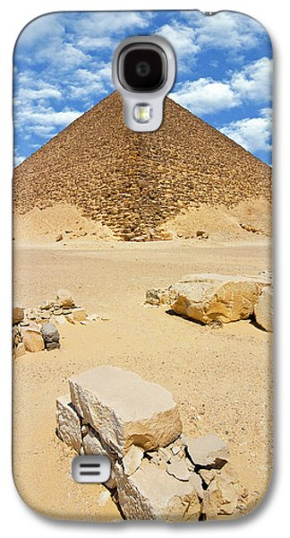 The Red Pyramid (senefru Or Snefru Galaxy S4 Case by Nico Tondini