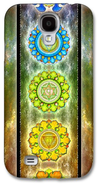 Light Galaxy S4 Cases - The Seven Chakras Series 2012 Galaxy S4 Case by Dirk Czarnota