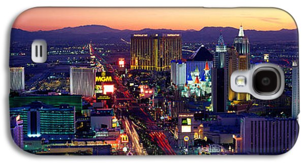 Urban Images Galaxy S4 Cases - The Strip, Las Vegas, Nevada, Usa Galaxy S4 Case by Panoramic Images