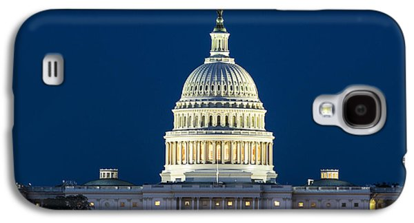 Landmarks Photographs Galaxy S4 Cases - The United States Capitol Building Galaxy S4 Case by John Greim