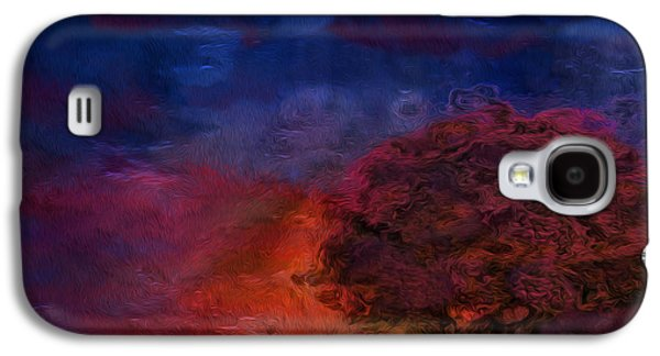Abstract Digital Art Galaxy S4 Cases - Through The Mist Galaxy S4 Case by Jack Zulli