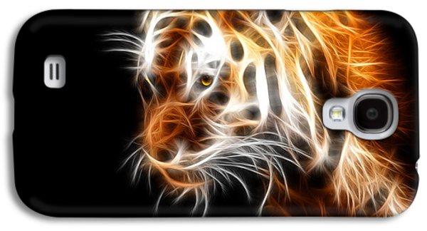 Tiger  Galaxy S4 Case by Mark Ashkenazi