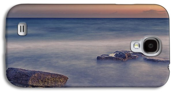 Beach Landscape Galaxy S4 Cases - Time Galaxy S4 Case by Stylianos Kleanthous