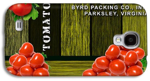 Tomato Farm Galaxy S4 Case by Marvin Blaine