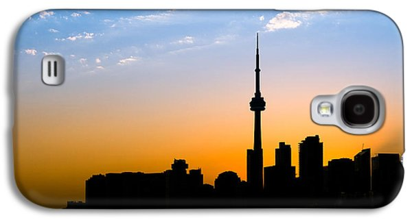 Toronto Skyline Galaxy S4 Case by Sebastian Musial