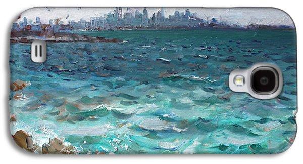 Toronto Galaxy S4 Cases - Toronto Skyline Galaxy S4 Case by Ylli Haruni