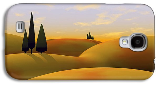 Modern Digital Art Galaxy S4 Cases - Toscana 3 Galaxy S4 Case by Cynthia Decker