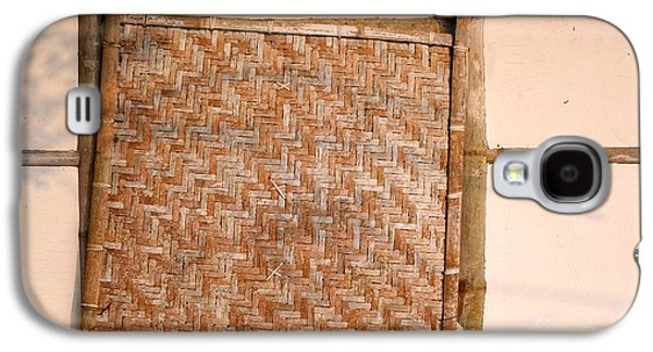 Bamboo House Galaxy S4 Cases - Traditional Chinese Bamboo Structure Galaxy S4 Case by Yali Shi
