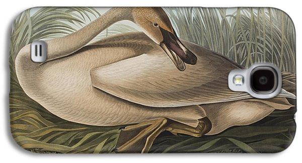 Trumpeter Swan Galaxy S4 Case by John James Audubon