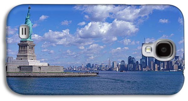 Liberation Galaxy S4 Cases - Usa, New York, Statue Of Liberty Galaxy S4 Case by Panoramic Images