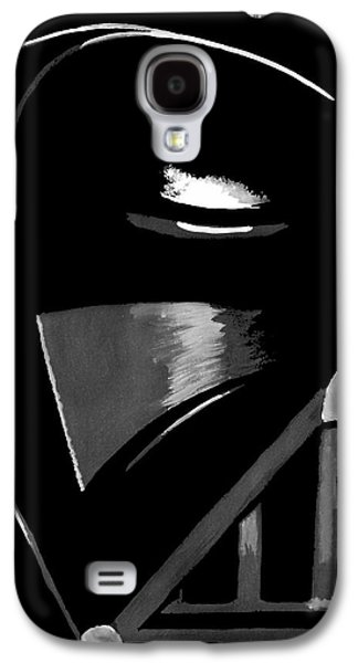 Space Paintings Galaxy S4 Cases - Vader Galaxy S4 Case by Dale Loos Jr