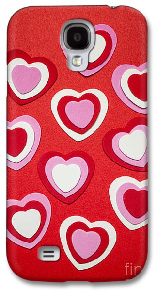 Valentines Day Hearts Galaxy S4 Case by Elena Elisseeva