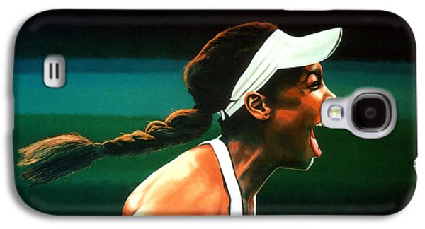 Venus Williams Galaxy S4 Case by Paul Meijering