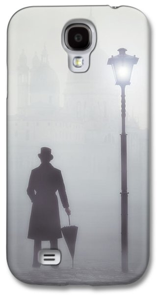 Victorian Photographs Galaxy S4 Cases - Victorian Man Galaxy S4 Case by Joana Kruse