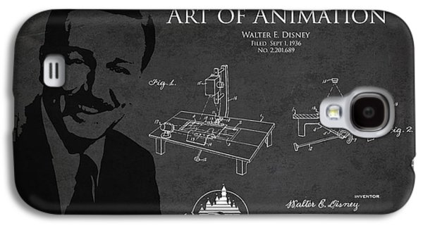 Best Sellers -  - Animation Galaxy S4 Cases - Walt Disney Patent from 1936 Galaxy S4 Case by Aged Pixel