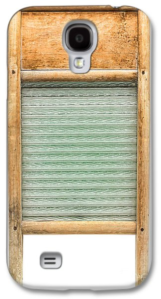 Appliance Galaxy S4 Cases - Washboard Galaxy S4 Case by Olivier Le Queinec