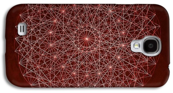 Electron Galaxy S4 Cases - Wave Particle Duality Galaxy S4 Case by Jason Padgett