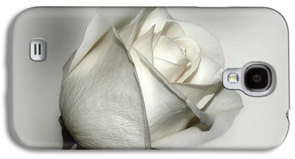 Indiana Flowers Galaxy S4 Cases - White Rose Galaxy S4 Case by Sandy Keeton