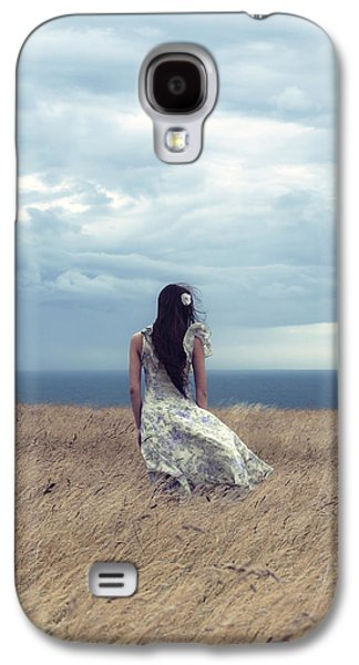Girl Galaxy S4 Cases - Windy Day Galaxy S4 Case by Joana Kruse
