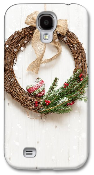 Celebration Photographs Galaxy S4 Cases - Winter Garland Galaxy S4 Case by Amanda And Christopher Elwell