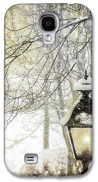 Snow-covered Landscape Digital Art Galaxy S4 Cases - Winter Stillness Galaxy S4 Case by Julie Palencia