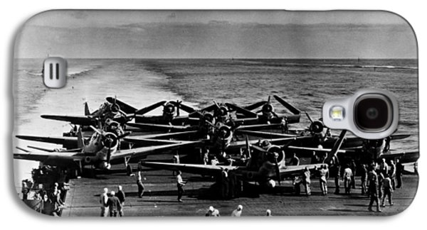 Enterprise Galaxy S4 Cases - World War Ii: Midway, 1942 Galaxy S4 Case by Granger