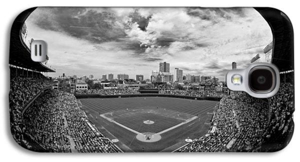 Wrigley Field  Galaxy S4 Case by Greg Wyatt