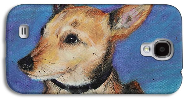Puppies Galaxy S4 Cases - Zack Galaxy S4 Case by Jeanne Fischer