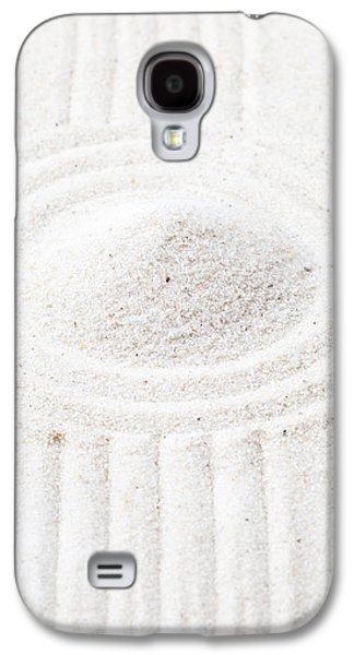 Garden Scene Sculptures Galaxy S4 Cases - Zen garden Galaxy S4 Case by Shawn Hempel