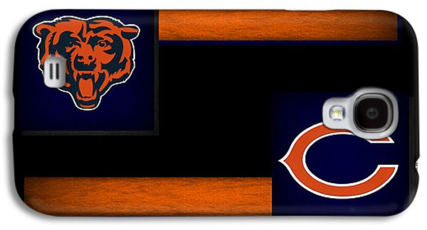 Nfl Galaxy S4 Cases - Chicago Bears Galaxy S4 Case by Joe Hamilton