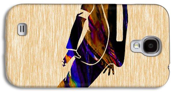 Michael Jackson  Galaxy S4 Case by Marvin Blaine