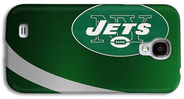 Jets Galaxy S4 Cases - New York Jets Galaxy S4 Case by Joe Hamilton