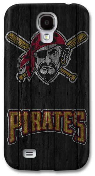 Pirates Galaxy S4 Cases - Pittsburgh Pirates Galaxy S4 Case by Joe Hamilton