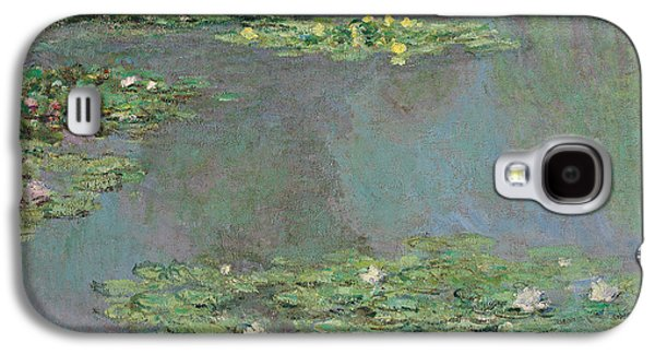 Reproduction Galaxy S4 Cases - Water Lilies Galaxy S4 Case by Claude Monet