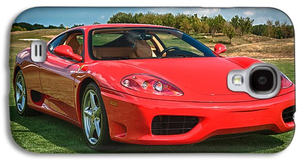Mechanics Photographs Galaxy S4 Cases - 2001 Ferrari 360 Modena Galaxy S4 Case by Sebastian Musial