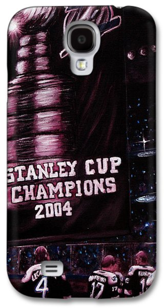 Stanley Cup Paintings Galaxy S4 Cases - 2004 Champs Galaxy S4 Case by Marlon Huynh