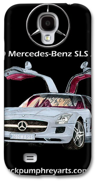 The Houses Mixed Media Galaxy S4 Cases - 2010 Mercedes Benz S L S    A M G Galaxy S4 Case by Jack Pumphrey