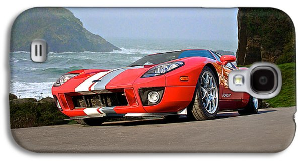Pch Galaxy S4 Cases - 2011 Ford GT Cruzn the PCH Galaxy S4 Case by Dave Koontz