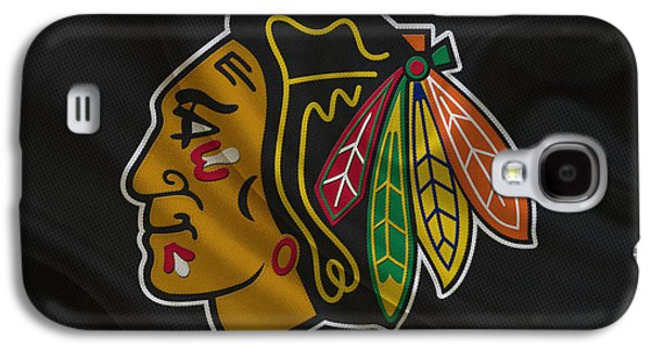 Barn Doors Galaxy S4 Cases - Chicago Blackhawks Galaxy S4 Case by Joe Hamilton