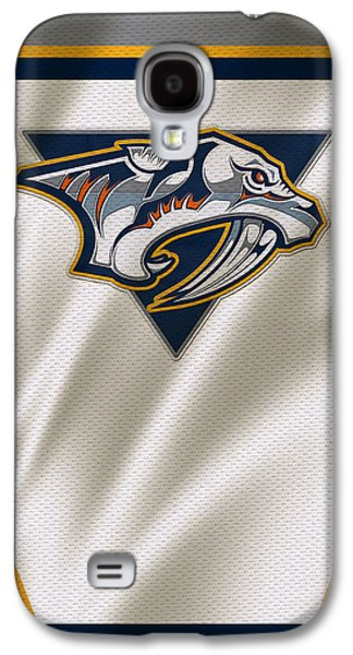 Recently Sold -  - Sports Photographs Galaxy S4 Cases - Nashville Predators Galaxy S4 Case by Joe Hamilton