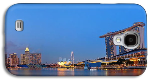Landmarks Photographs Galaxy S4 Cases - Singapore Galaxy S4 Case by Songquan Deng