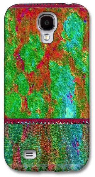 Slavery Mixed Media Galaxy S4 Cases - 21st Century Middle East GHOST LANDS in the heads of Humans and Soldiers exposed to the Madness Galaxy S4 Case by Navin Joshi