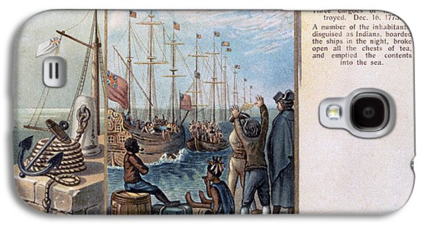 African-american Galaxy S4 Cases - Boston Tea Party, 1773 Galaxy S4 Case by Granger